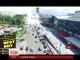 """У столиці через експерименти """"Київенерго""""з-під асфальту вирвався фонтан гарячої води"""