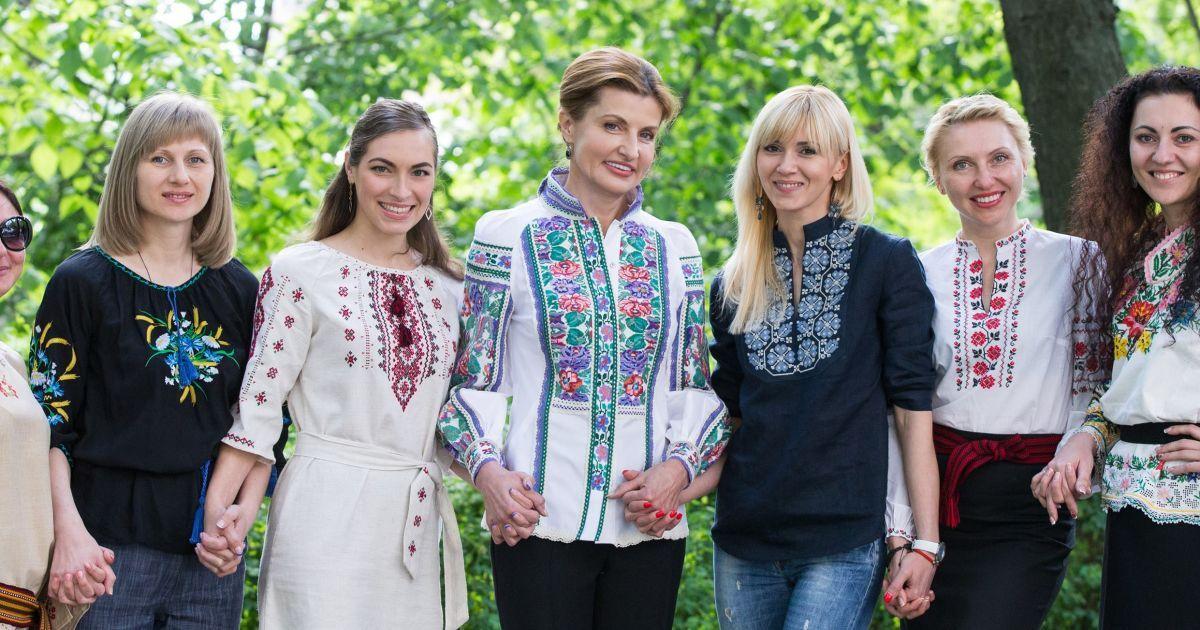 Перша леді Марина Порошенко.