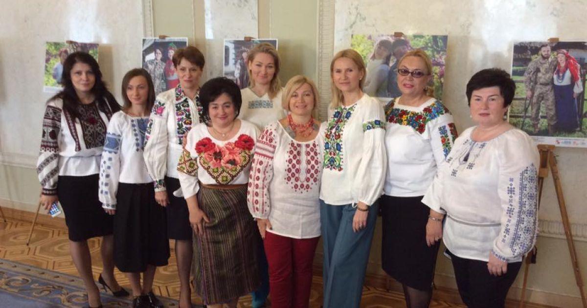 Перший віце-спікер Верховної Ради України Ірина Геращенко.