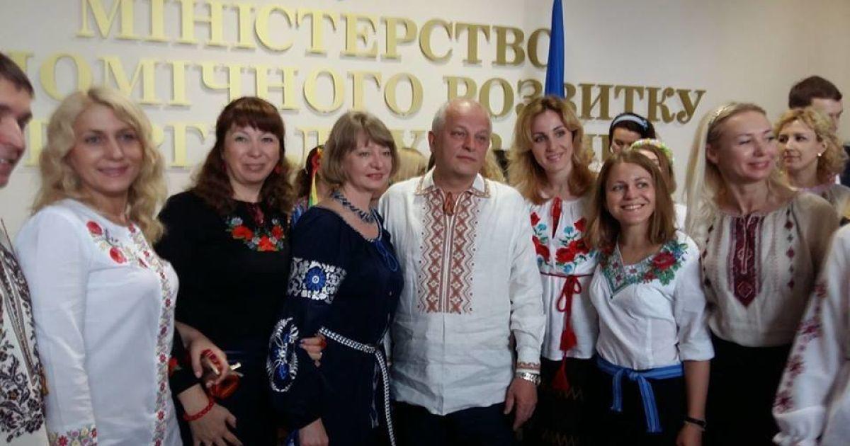 Міністр економічного розвитку і торгівлі України Степан Кубів.