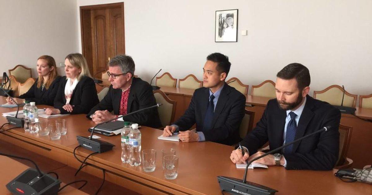 Посол США в Україні Джеффрі Пайєтт.