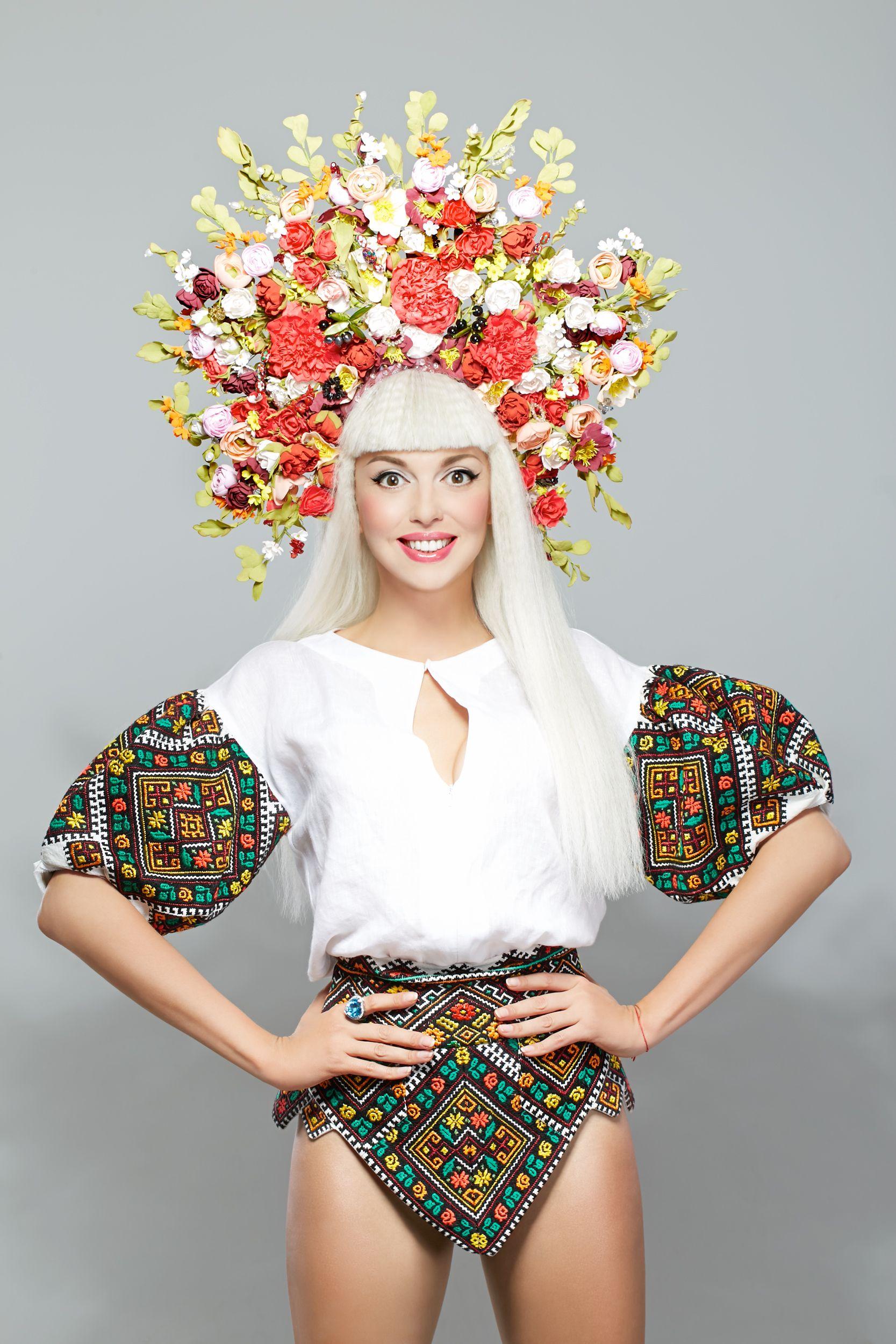 Фотосессии украинских певиц