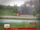 На Вінниччині на ходу  загорівся пасажирський потяг