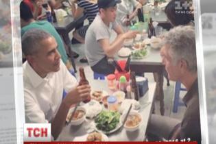 Локшина для Обами: президент США відвідав звичайний ресторан у В'єтнамі