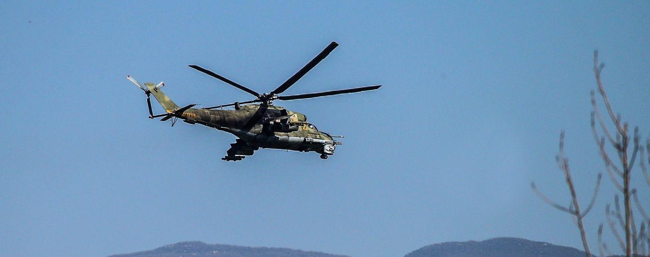 У Сирії розбився російський військовий гелікоптер. Двоє пілотів загинули