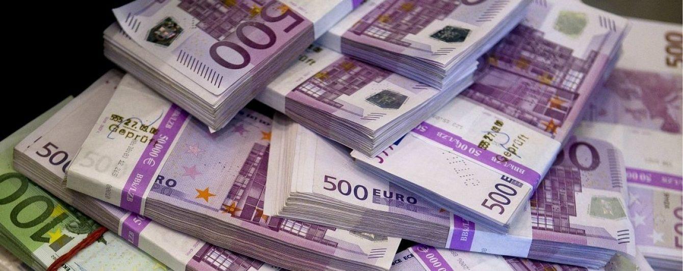 Евро перевалил за психологическую черту в курсах Нацбанка на пятницу, 13-ое. Инфографика