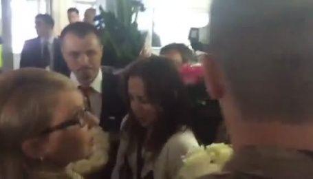 Савченко в аеропорту чекав натовп з квітами