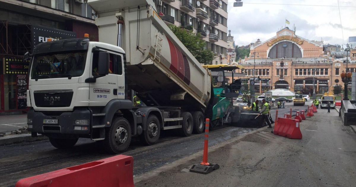 В Киеве капитально отремонтируют больше дорог и исчезнут маршрутки – Кличко