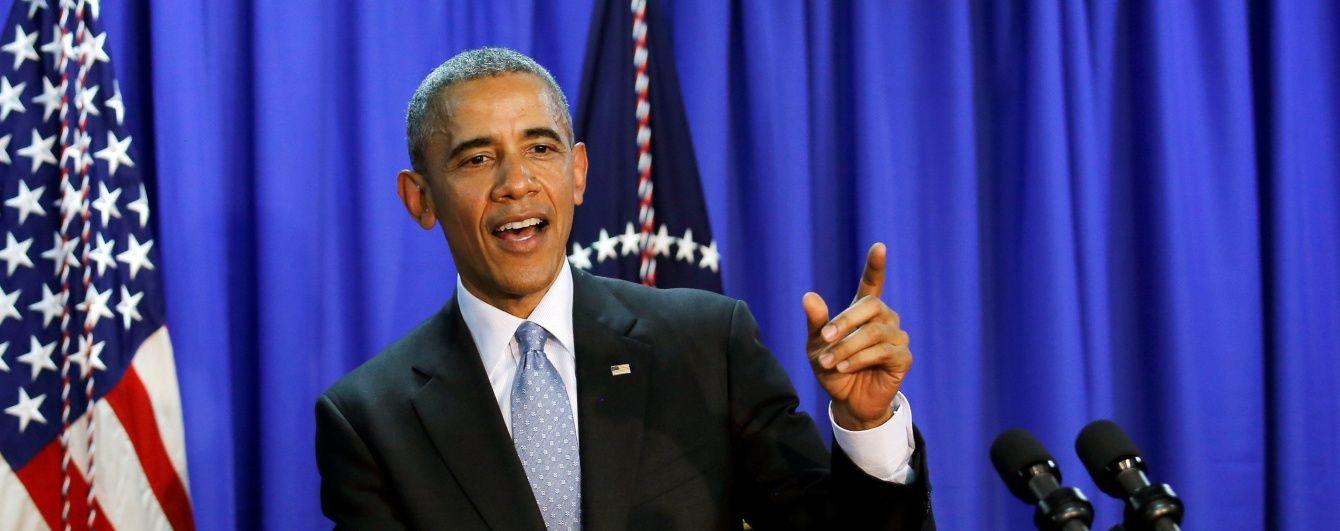 """Занадто багато насильства"". Обама закликав продовжити боротьбу за Україну"