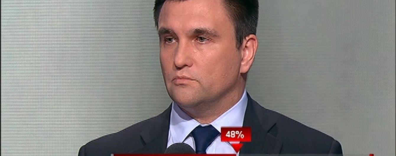 Клімкін підтвердив інформацію про обмін українських політв'язнів на російських військових