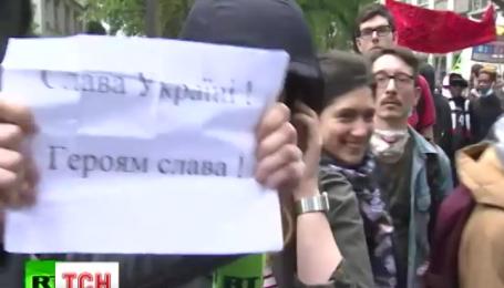 """""""Слава Украине"""" прозвучало в эфире российского пропагандистского канала"""