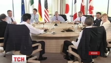 """Америка и Евросоюз заверили Украину в поддержке на саммите """"Большой семерки"""""""
