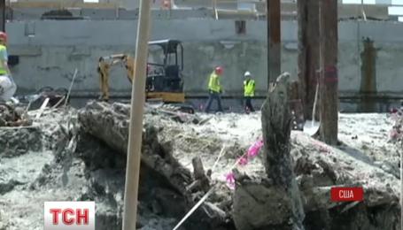 Старовинний корабель посеред Бостона відкопали американські будівельники