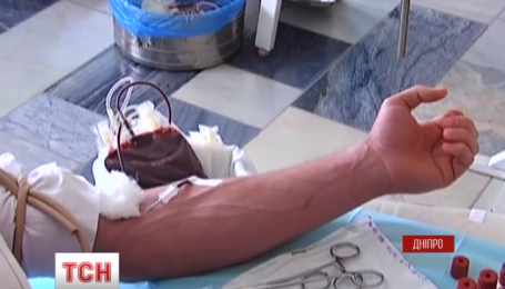 В обласній лікарні імені Мечникова оголосили День донора