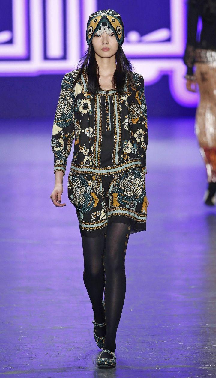 Коллекция Anna Sui прет-а-порте сезона осень-зима 2016-2017 @ East News