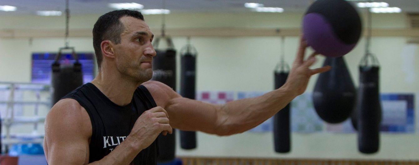 Кличко розпочав заключний етап підготовки до реваншу з Ф'юрі