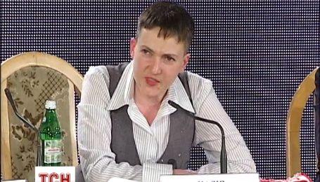 Савченко не збирається відпочивати після звільнення