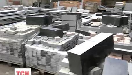 Житель Харківської області запатентував шматки каменю, які розміщують на могилі