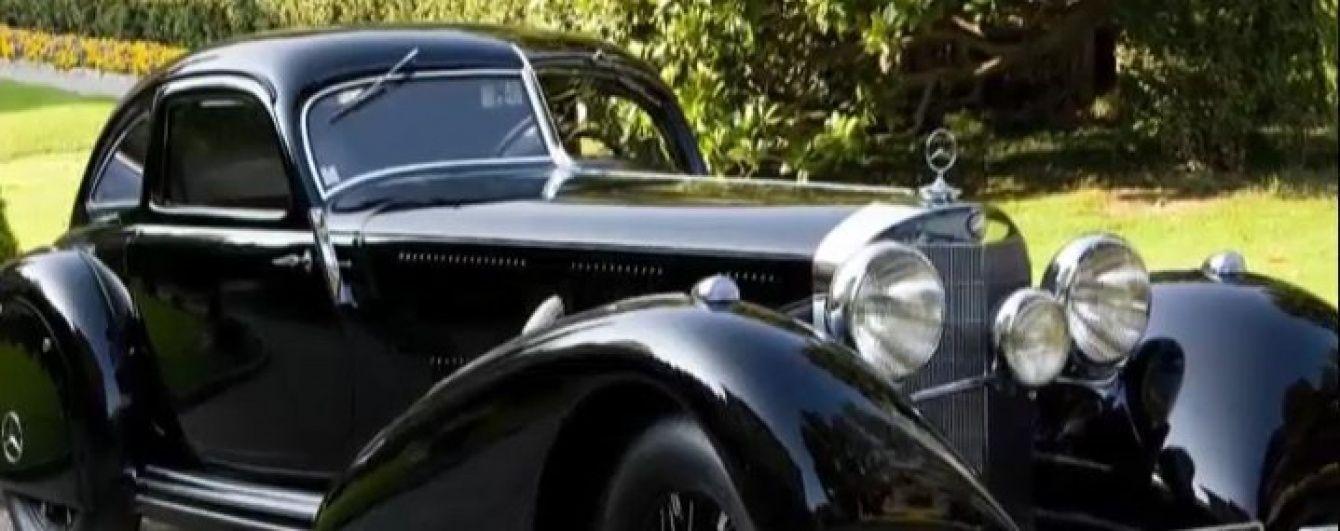 В Киеве засветилось авто, очень похожее на редкий Mercedes 1938 года