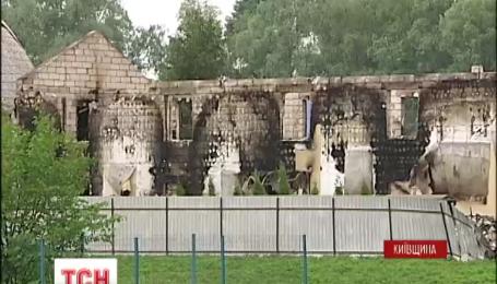 На Київщині оголосили день жалоби за загиблими під час пожежі в притулку для людей похилого віку