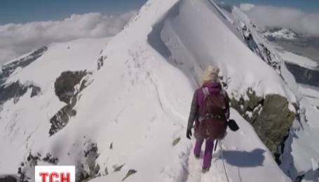Ирина Галай, которая покорила пик горы Эверест, вернулась домой