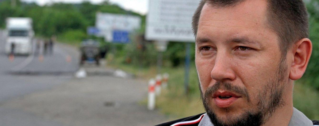 """Керівникові закарпатського """"Правого сектору"""" оголосили про підозру у 15 злочинах - ЗМІ"""