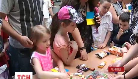 У Чернівцях до Дня захисту дітей влаштували масштабне свято
