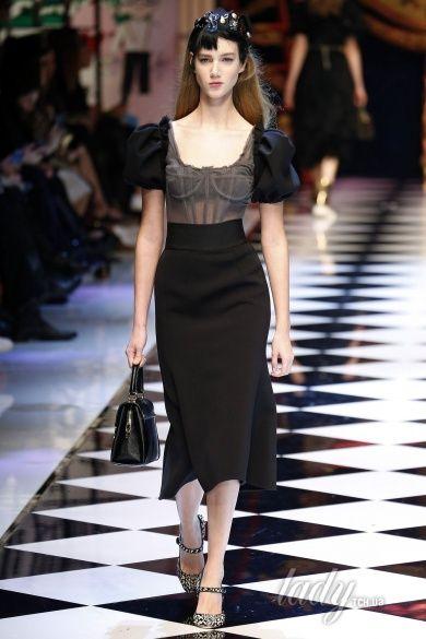 Коллекция Dolce & Gabbana прет-а-порте сезона осень-зима 2016-2017_90