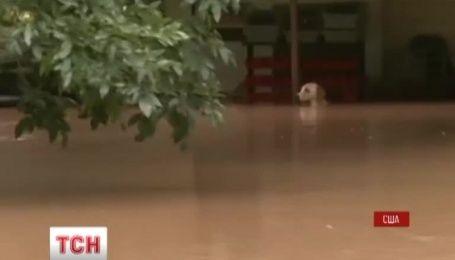 В американском штате Техас бушует непогода