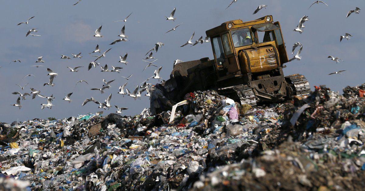У Львівській області горить 3,5 га сміттєзвалища
