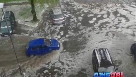 Международный обзор: дороги в Польше превратились в реки