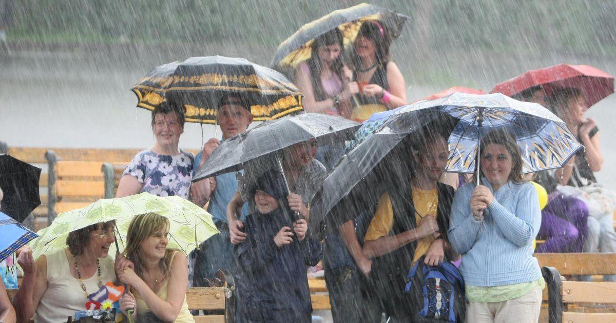 Синоптики спрогнозировали дожди и грозы на Киевщине