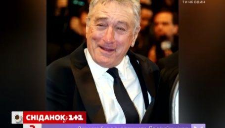 Актер Роберт Де Ниро переквалифицировался в певцы
