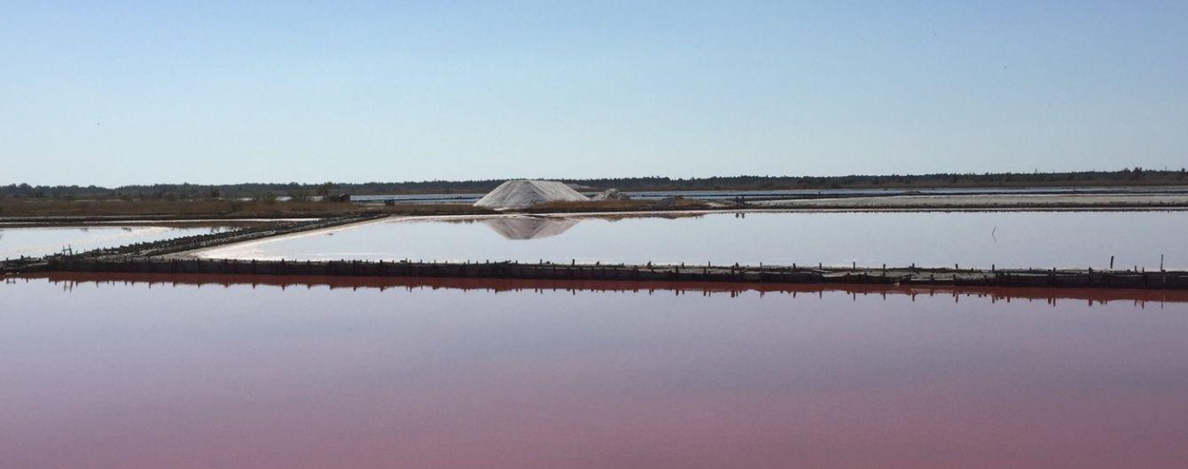 Природні дива України: рожеві озера Херсонщини