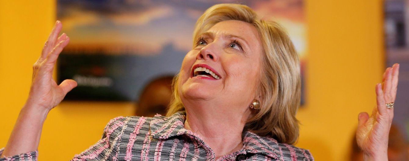 Клинтон набрала необходимое количество голосов для выдвижение в президенты