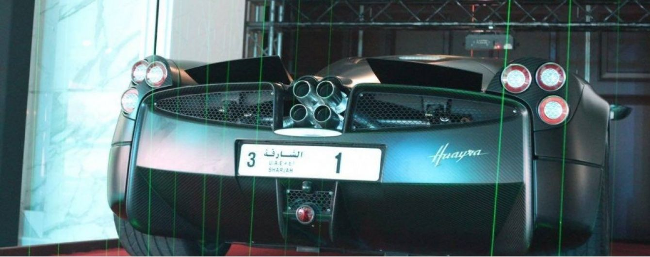 Араб заплатил почти 5 млн долларов за номерной знак для авто