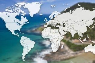 """""""Нырните"""" в школьный курс географии: угадайте, какие моря и океаны омывают разные страны"""