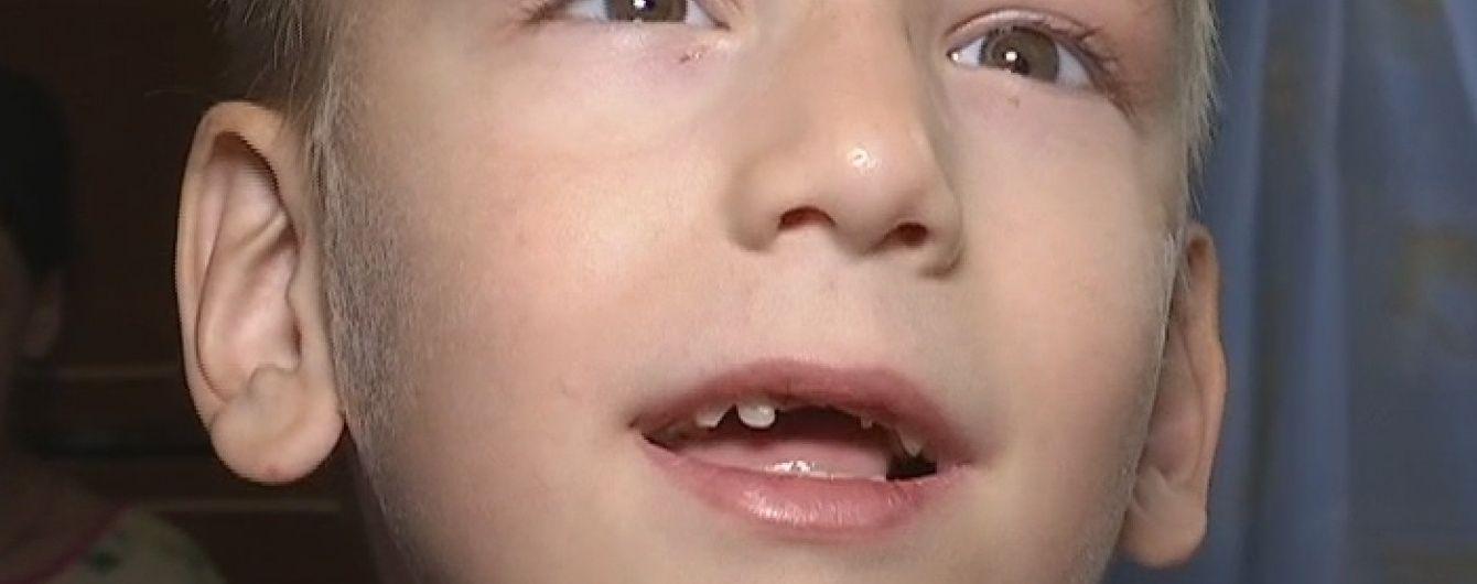 Допоможіть повернути зір 4-річному Сашку