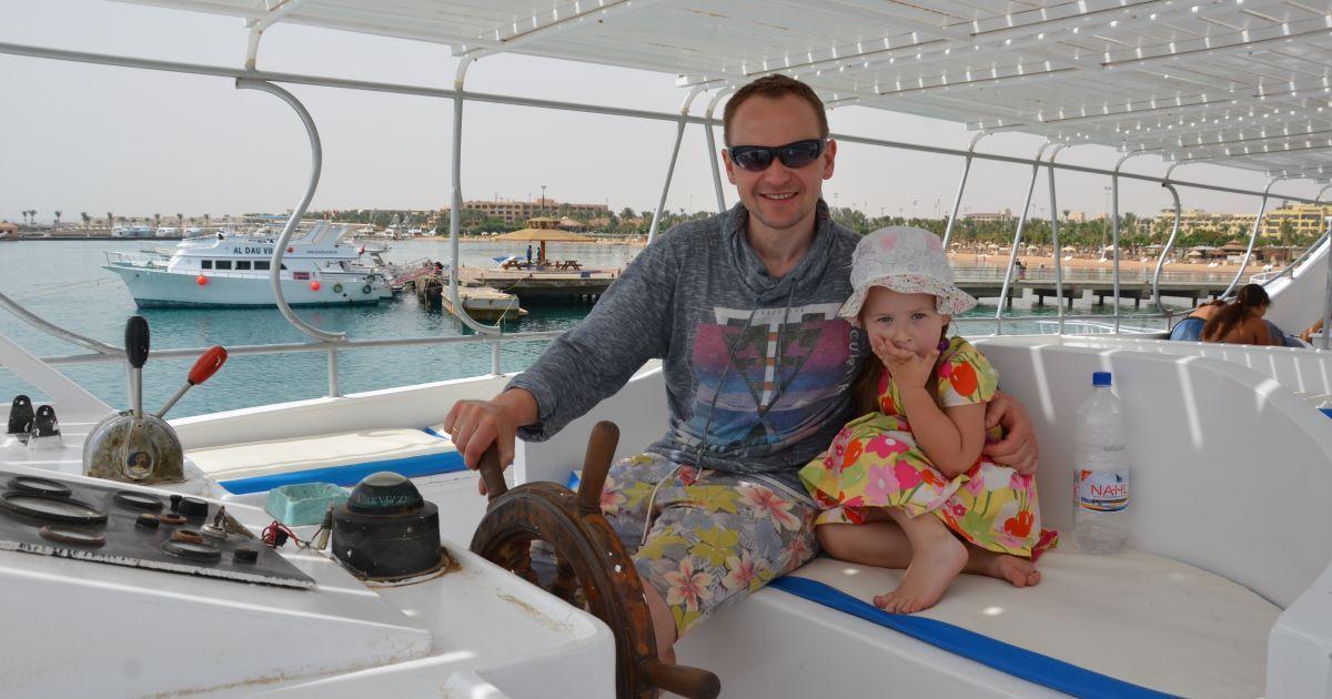 Табаков с семьей отдохнул в Египте @ пресс-служба Павла Табакова