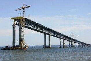 """Строить железную дорогу к Керченскому мосту в аннексированном Крыму будет компания """"друга Путина"""""""