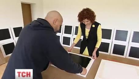 """Украинские художники провели мастер-класс под названием """"В каждый дом по квадрату"""""""