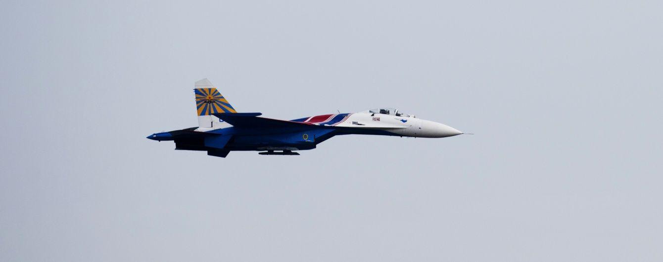 В Крыму в море упал российский истребитель