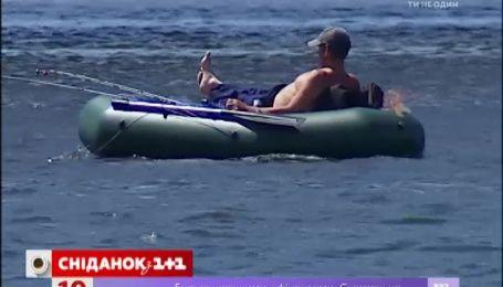 Украинцы могут смело отправляться на рыбалку