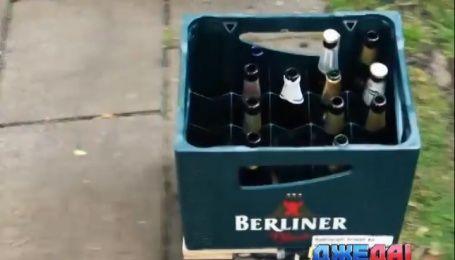Немцы сконструировали пивной ящик на дистанционном управлении