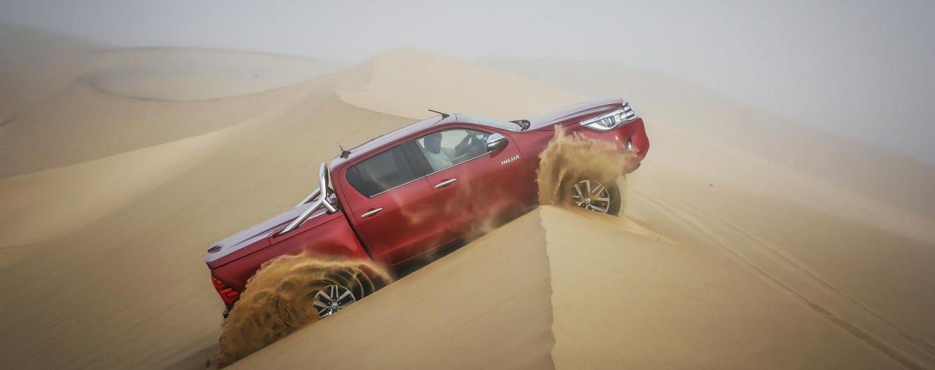 Toyota Hilux: Любимец Африки