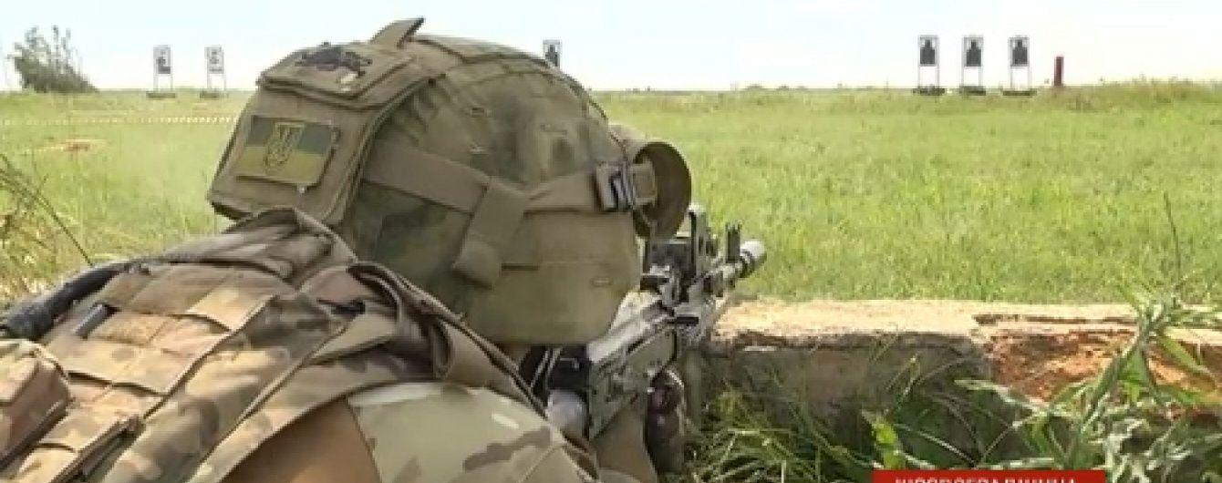 Кіровоградський полк спецпризначення почали тренувати інструктори НАТО