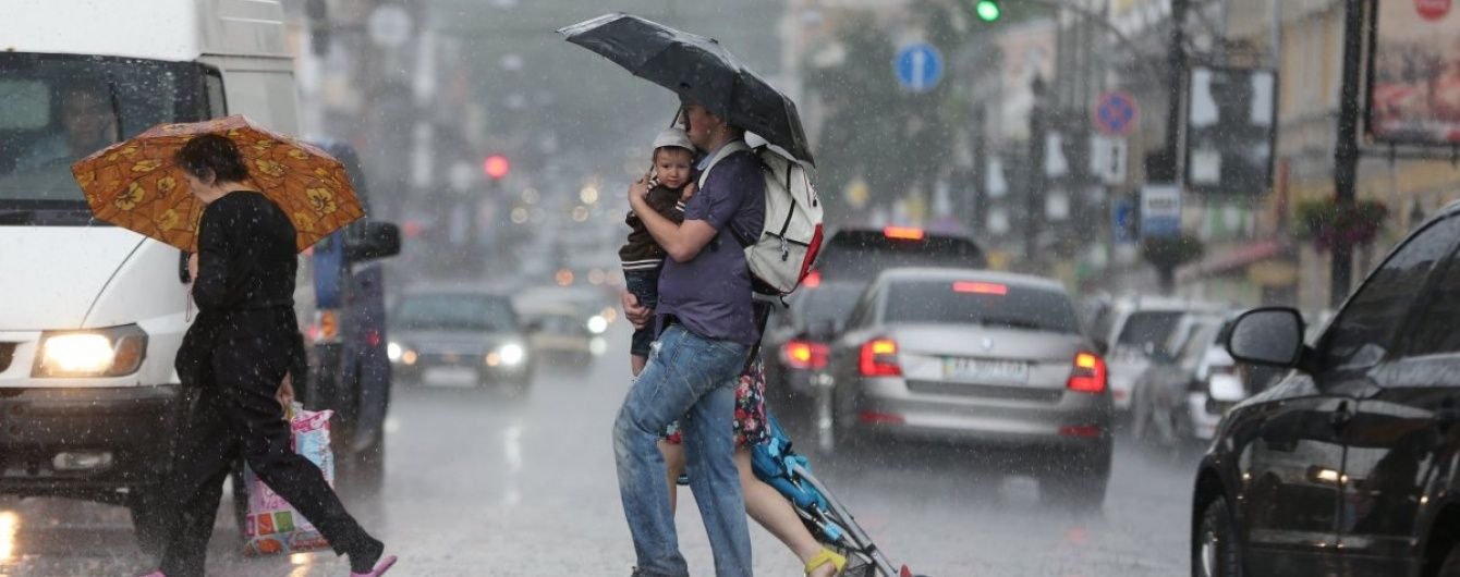 Дощитиме на Півночі, Півдні та в Центрі. Прогноз погоди на 18 серпня