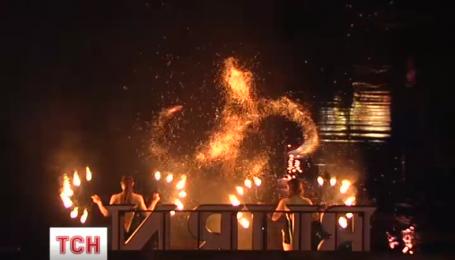 На Певческом поле начинается Киевский фестиваль огня