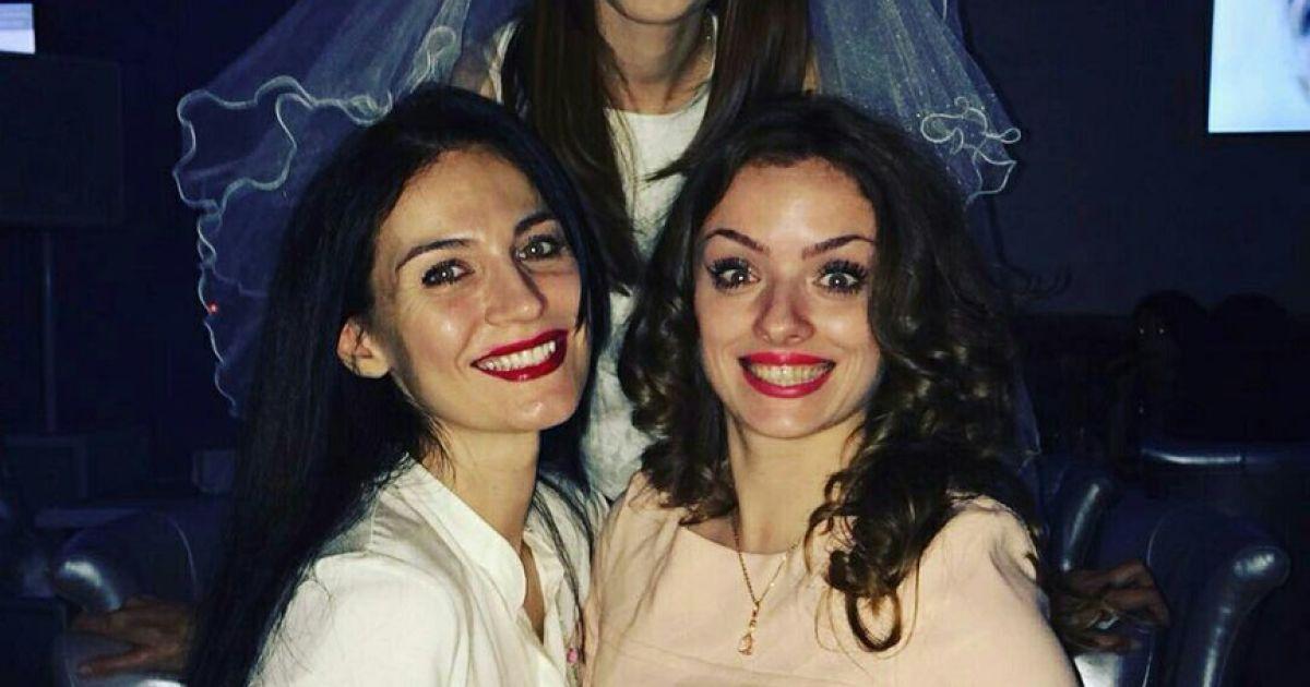 Фото с девичника Александры