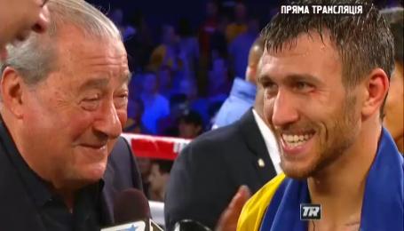 Ломаченко прокомментировал свою историческую победу над Мартинесом